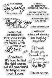 477353 Stampendous Clear Stamps Sincere Sentiments