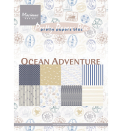 PK9162 Pretty Papers Blocks A5 Ocean Adventure