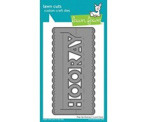 LF2355 Lawn Fawn Pop-Up Hooray Dies