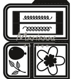 CR1433 Marianne Design Craftables Card box