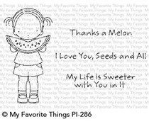 PI-286 My Favorite Things Sweet Summertime Clear Stamps