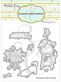 C3AJ546D Colorado Craft Company Metal Die Set Keep Growing-By Anita Jeram