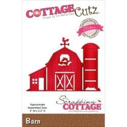 "519966 Cottagecutz Elites Die Barn 3""X2.2"""