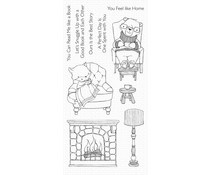 SY-15 My Favorite Things Cozy Companions Clear Stamps