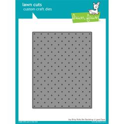 LF1721 Lawn Cuts Custom Craft Die Itsy Bitsy Polka Dot Backdrop