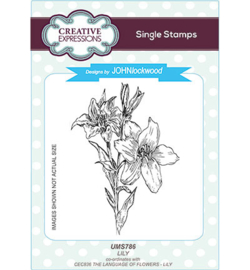 UMS786 Single Stamp Lily
