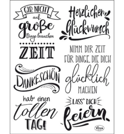 4003.168.00 ViVa Clear Stamps Lettering deutsch