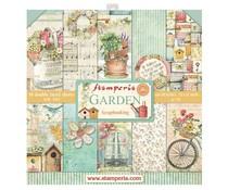 SBBL43 Stamperia Garden 12x12 Inch Paper Pack