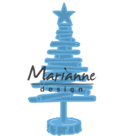 LR0492 Marianne Design Creatables Tiny's Christmas tree wood