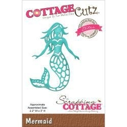 "452584 CottageCutz Elites Die Mermaid 2.2""X3"""