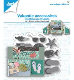 6002/1476 Joy!Crafts Cutting & embossing  Vakantie accessoires