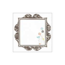 125243 Art Impressions Watercolor Cling Rubber Stamps Little Girls