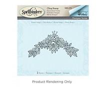 SBS-078 Spellbinders Flower Swag 2 Stamp