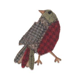 664231 Sizzix Bigz Die - Patchwork Bird by Tim Holtz