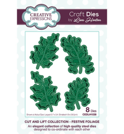 CEDLH1038 The Cut and Lift Collection Festive Foliage
