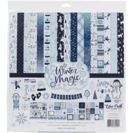 "635949 Echo Park Collection Kit  Winter Magic 12""X12"""