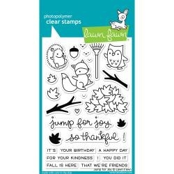 LF1212 Lawn Fawn Clear Stamps Jump For Joy