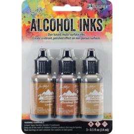 285516 TAK53477 Adirondack Inkt Cabin Cupboard-Caramel/Ginger/Latte