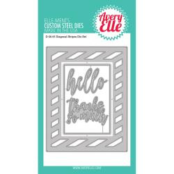 492772 Elle-Ments Dies Diagonal Stripes