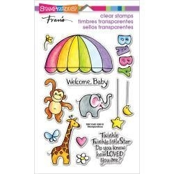 529584 Stampendous Perfectly Clear Stamps Animal Mobile