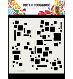 470.715.615 Dutch DooBaDoo Mask Art Squares