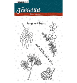 STAMPSL504 Studio Light Clear Stamp Winter's Favourites nr.504