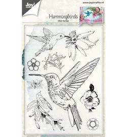 6410/0464 Stempel Hummingbirds