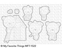 MFT-1522 My Favorite Things Builder Bears Die-namics