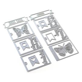 EC1868 Elizabeth Craft Metal Die Planner Essentials 42