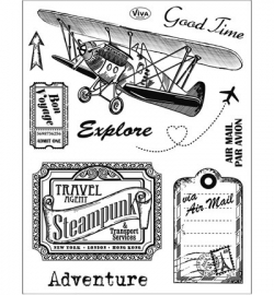7014 Viva Decor Clear Stamps Adventure