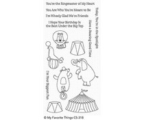 CS-318 My Favorite Things The Greatest Show Clear Stamps