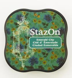 SZM-54 Tsukineko Stazon Midi Ink Pad Emerald City