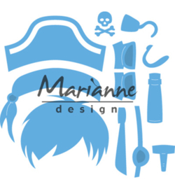 LR0527 Marianne Design Creatables Kim's Buddies pirate