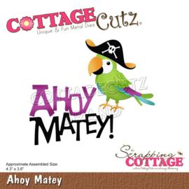 "CC756 CottageCutz Dies Ahoy Matey 4.3""X3.6"""