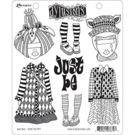 DYR76797 Ranger Dylusions Cling Stamp Set Just Be