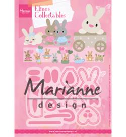 COL1463 Collectables Eline's baby bunny