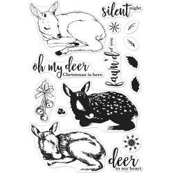 "520923 Hero Arts Clear Stamps Color Layering Fawn 4""X6"""