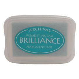 BR1-41 Brilliance ink pad pearl jade