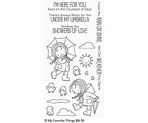 BB-58 My Favorite Things Rain or Shine Clear Stamps
