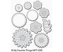 MFT-1292 My Favorite Things Bold Blossoms Die-Namics