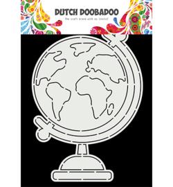 470.784.026 Dutch DooBaDoo Card Art A5 Globe