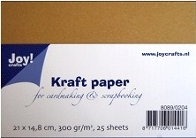 8089-0204 Joy!Crafts Kraft Paper (300 gr) A5