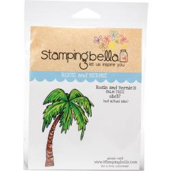 448710 Stamping Bella Cling Stamps Rosie & Bernie's Palm Tree