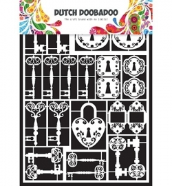 472.948.009  Dutch Doobadoo Laservel Keys