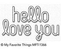MFT-1366 My Favorite Things Simply Hello & Love You Die-Namics