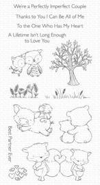 SY-28 My Favorite Things Perfect Couple Clear Stamps