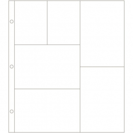 040155 Project Life Photo Pocket Pages 24/Pkg Design G