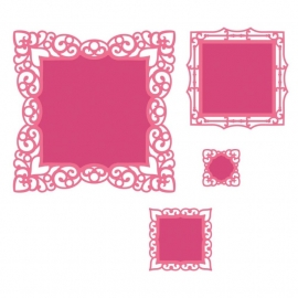 S4472 Spellbinders Nestabilities Die Labels 42 Decorative Accents