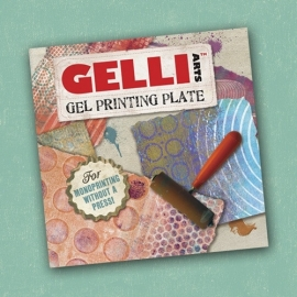 GL6x6 Gelli Arts Printing Plates 6x6x3/8 inch Plate