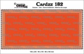 CLCZ182 Crealies Cardzz Slimline B